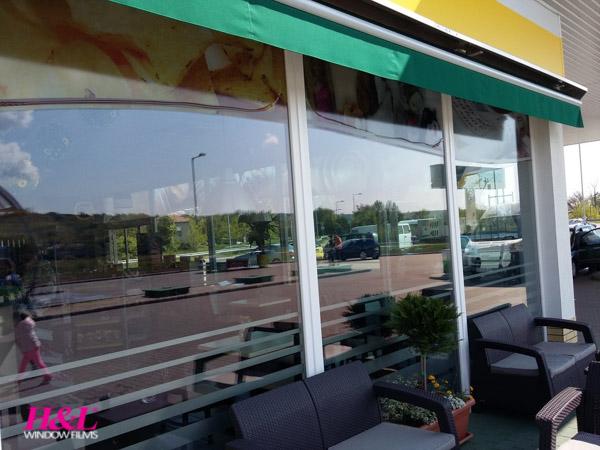 Beltéri hővédő ablakfólia 80%